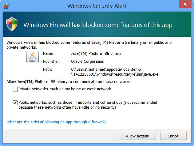 80 11 Firewall access Allow کیوتست