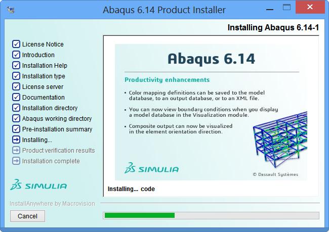 qtest.ir49 Abaqus Product Inastall 20 کیوتست