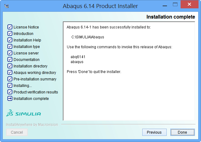 qtest.ir80 52 Abaqus Product Install Complete کیوتست